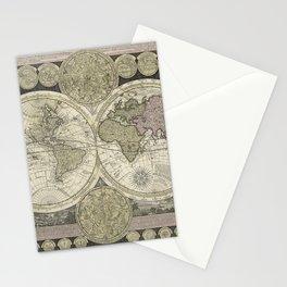 Celestial Map 1710 Stationery Cards