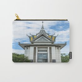 The Memorial Stupa of Choeung Ek, Cambodia Carry-All Pouch