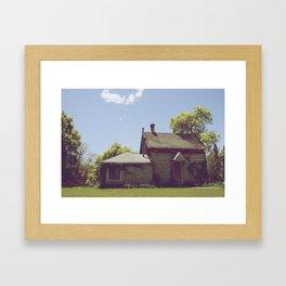 Old Home Framed Art Print