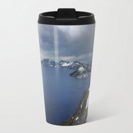 Overlooking Crater Lake Travel Mug
