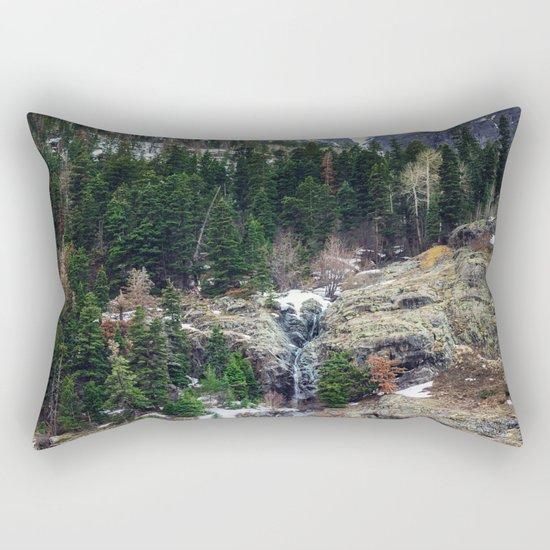 Mountain Pano Rectangular Pillow