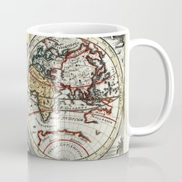 World Map 1758 Coffee Mug