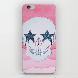 star skull iPhone Skin