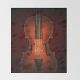 Straordinarius Stradivarius Throw Blanket