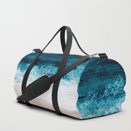 Watercolour Summer beach III Duffle Bag