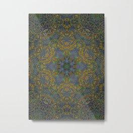 magic mandala 35 #mandala #magic #decor Metal Print