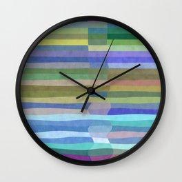 Fab Arty Stripes Wall Clock