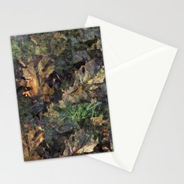 The Great Outdoors Green Stationery Cards