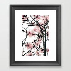 Magnolia Canopy Framed Art Print