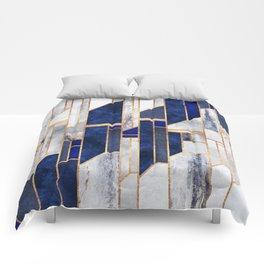 Blue Winter Sky Comforters