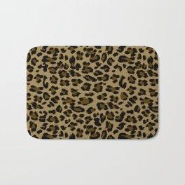 Leopard Print Pattern Bath Mat