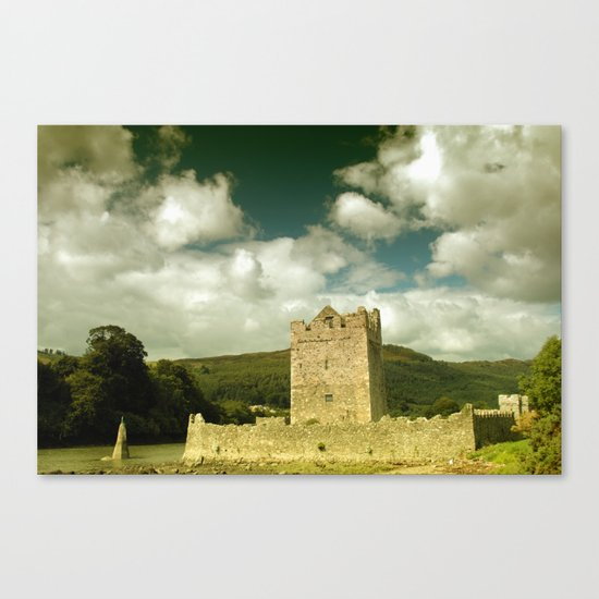 Warrenpoint Castle Canvas Print