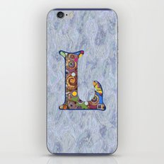 The Letter L iPhone & iPod Skin