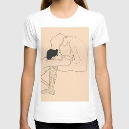 Egon Schiele - Lovers T-shirt