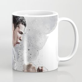 Cristiano ronaldo - painting Coffee Mug