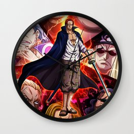 Shanks - One piece Wall Clock