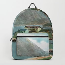 Colorful Norway 1915 Backpack