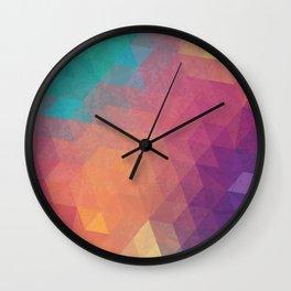 Geometric art Wall Clock
