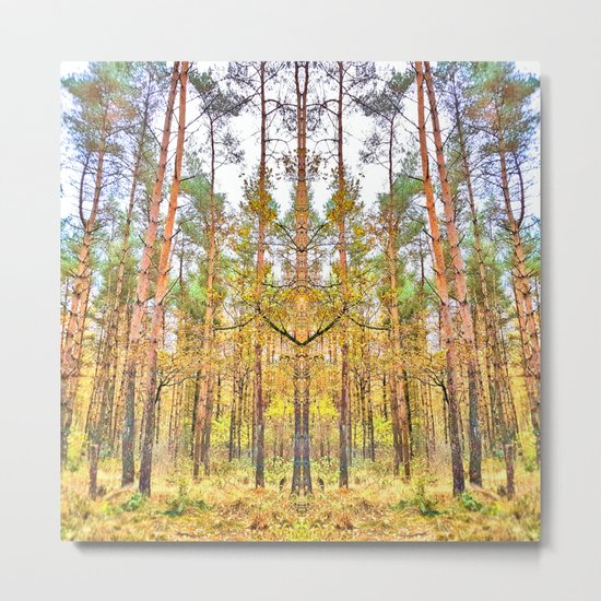 Guardian of the Woods Metal Print