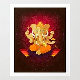 Ganesha | Animal Gods Art Print