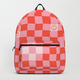 SmileyChecks Backpack