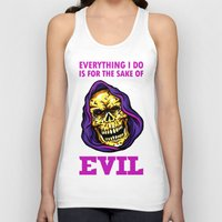 evil Tank Tops featuring EVIL by DesecrateART (Infected)