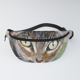 The Curious Tabby Cat Fanny Pack