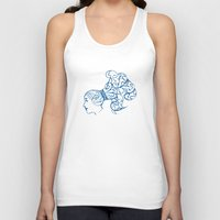 aquarius Tank Tops featuring Aquarius by Rebelot