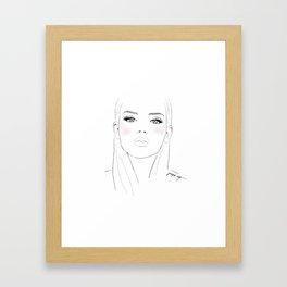 Juniper Four Framed Art Print