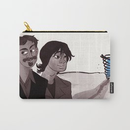 """""""Carrier"""" by Virginia McCarthy Carry-All Pouch"""
