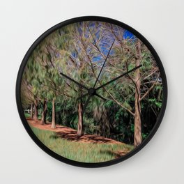 Going for a Walk Wall Clock