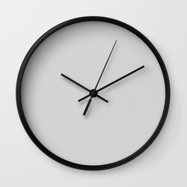GRAY CASHMERE light neutral solid color Wall Clock