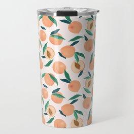 Still Nature Peaches Travel Mug