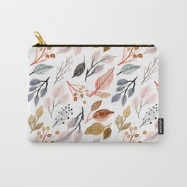 tree leaves #704 Carry-All Pouch