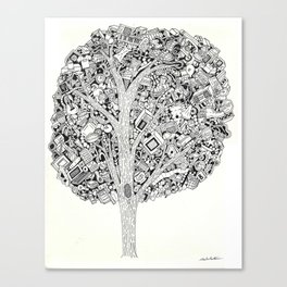 The Tree that never Fails Canvas Print