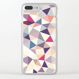 Plumtree Tris Clear iPhone Case