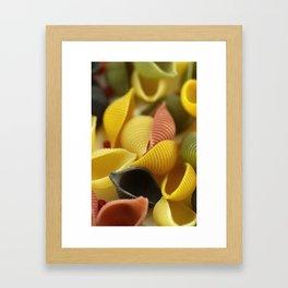 Colorful Pasta  Framed Art Print