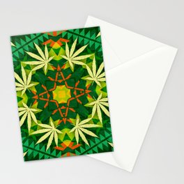 Tribal Cannabis Stationery Cards