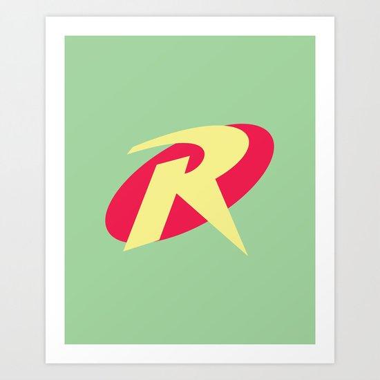 Robin Pastel Art Print