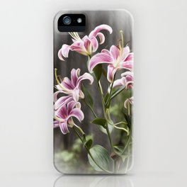 Dance of the Lilies iPhone Case