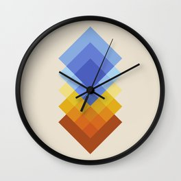 Layer by Layer 1 Wall Clock