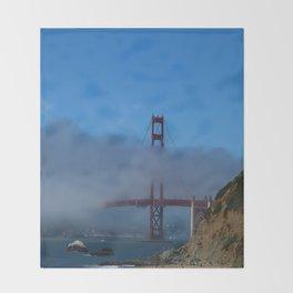 Golden Gate Brigde Throw Blanket
