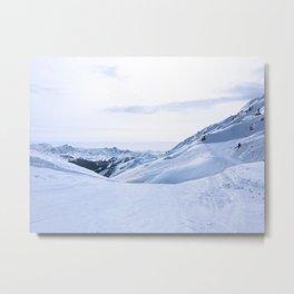 149. Perfect White, France Metal Print