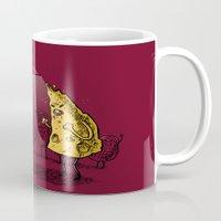 the breakfast club Mugs featuring Breakfast Club by Salih Gonenli