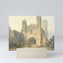 Saint Augustine's Gate, Canterbury (1793) by J.M.W. Turner Mini Art Print