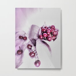 Cherry Harvest Metal Print