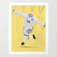 Leeds United 1991-92 Art Print