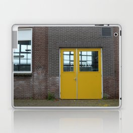 Yellow doors Laptop & iPad Skin