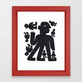 BODIES II Framed Art Print