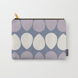 Wilma in Lilac and Ivory Carry-All Pouch